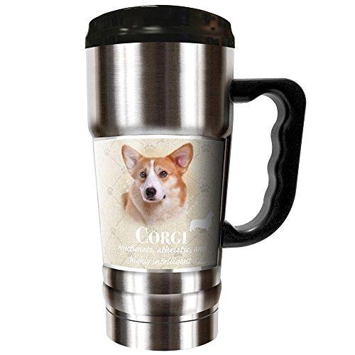 Howard Robinson - Corgi 20oz Vacuum Insulated Travel Mug by Dynasty Drinkware