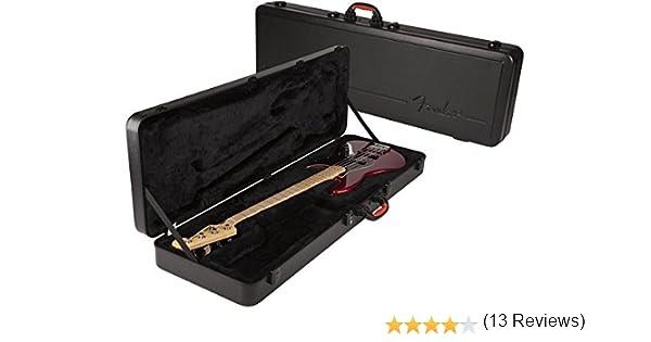 Fender ABS sistema de refuerzo de precisión moldeada/funda Jazz Bass - controles de graves P - J funda para guitarra de graves: Amazon.es: Instrumentos musicales