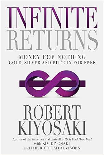 Devoluciones infinitas: dinero por nada – Oro, plata y Bitcoin gratis de Robert T. Kiyosaki