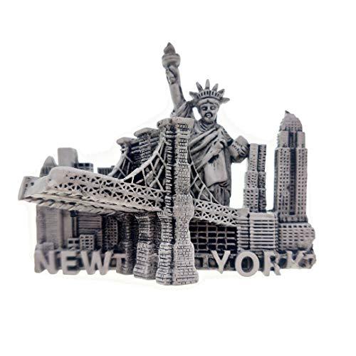 USA Magnet Souvenirs Statue of Liberty Golden Gate Bridge New York United States 3D Refrigerator Fridge Magnets Souvenir Sticker Kitchen Resin -