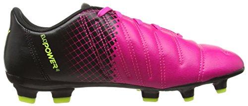 Puma Evopower 4.3 Tricks Fg Jr - Zapatillas de fútbol Unisex Niños Rosa - Pink (Pink Glow/Safety Yellow)