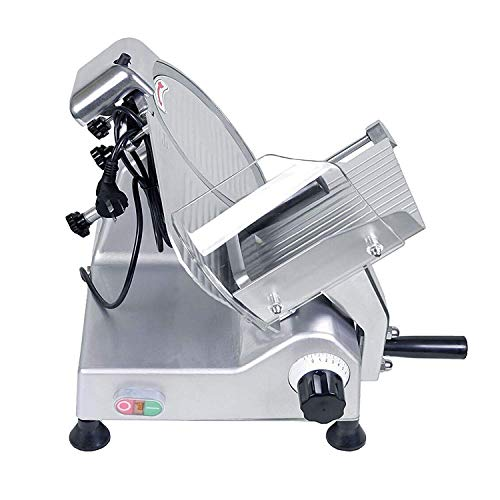BestEquip Commercial Food Slicer 10 inch Blade 530 RPM Commercial Electric Meat Slicer 240W for Commercial and Home Use by BestEquip (Image #4)