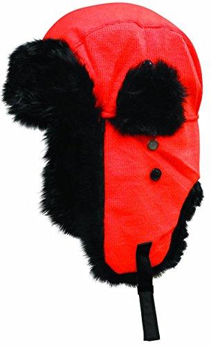 Dakota Dan Winter Trooper, Trapper, or Hunting Hat Faux Fur - Neon (Ideas For Halloween Party Flyers)