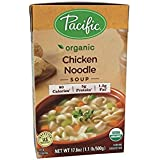 Pacific Foods Organic Chicken Noodle Soup, 17.6 oz