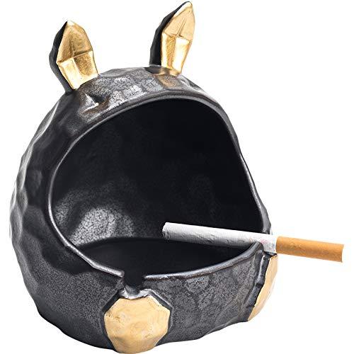 MELAG Asbak Gepersonaliseerde Konijn Asbak Leuke Keramiek Asbak Decoratie Thuis Cartoon Dier Sigaret Asbak Thuis En…