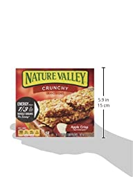 Nature Valley, Crunchy Granola Bars, Apple Crisp, 12-Count, 8.9oz Box (Pack of 4)