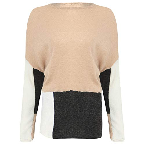 - Warm Women Sweaters O-Neck Pure Long Sleeve Casual Sweater Lightweight Perfect P