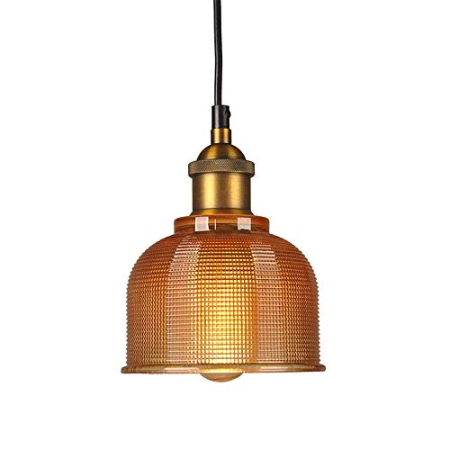 Rustic Colored Glass Pendant Lights