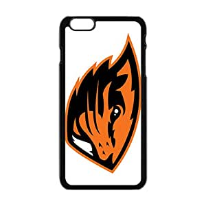 NCAA Oregon State Beavers Primary 2013 Black Phone Case for iPhone 6plus