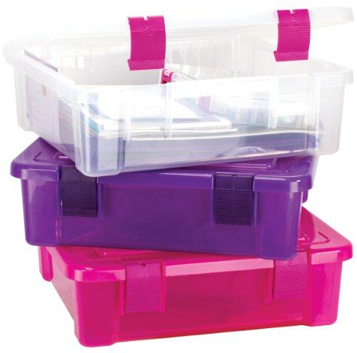 Creative Options File Tub Scrapbooking Storage Box