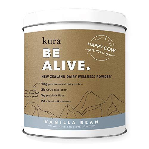 Kura New Zealand Dairy Wellness Powder (Vanila Bean)