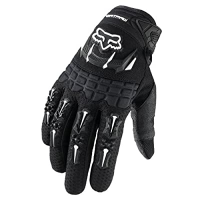 Fox Racing Dirtpaw Men's Off-Road/Dirt Bike Motorcycle Gloves - Color: Black, Size: Medium: Automotive