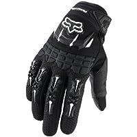 Fox Racing Dirtpaw Men's Off-Road/Dirt Bike Motorcycle Gloves - Color: Black, Size: Medium