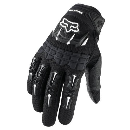 Fox Racing Dirtpaw Men's Off-Road/Dirt Bike Motorcycle Gloves - Color: Black, Size: Medium