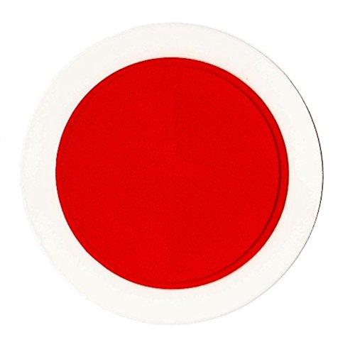 Universal Car Parking Permit Holder / Road Tax Disc Holder - Easy Fit & Removal (Red) Other