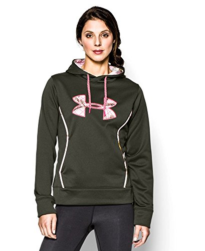 Under Armour Women's UA Storm Caliber Hoodie Large Rifle Green