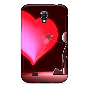 Tpu Case Cover Compatible For Galaxy S4/ Hot Case/ Touch My Heart