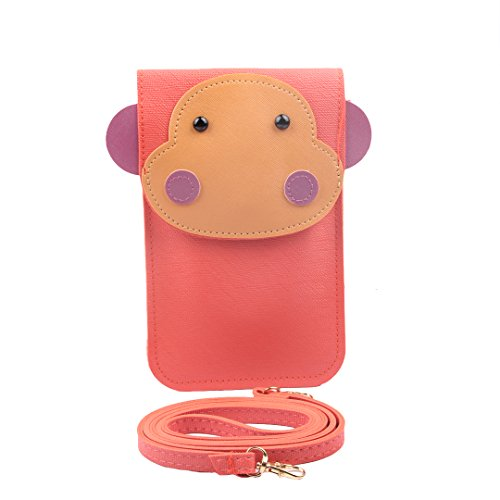 Price comparison product image Marca West Women Cute Cartoon Animal Handbag Mobile Phone Bag Messenger Mini Shoulder Bag Screentouch Bag