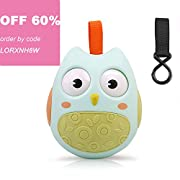 Owl Toy GUHEE Baby Infant Newborn Toys Rattle Car Seat Stroller Toys Roly-Poly Educational Toys Boys Girls (Green)