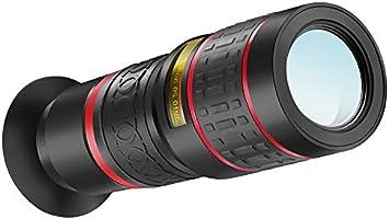 WQYRLJ Lente de la cámara 20X Lente Gran Angular HD 4K telescopio ...