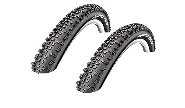 2 x Schwalbe Rapid Rob Neum/ático de la bicicleta Abrigo Cubierta 29 x 2.25-57-622-01022905S2
