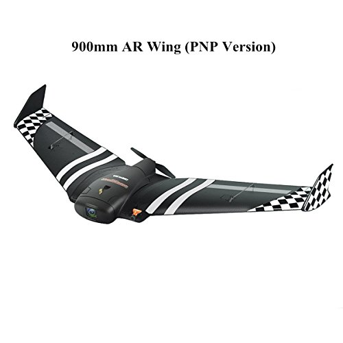 Crazepony FPV Wing 900mm Wingspan RC Planes for Adults Sonicmodell FPV Flywing Racing Wing EPP RC Drone Airplane (Remote Controlled Rc Airline Plane)