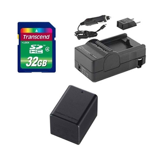 - Canon Legria HF R56 Camcorder Accessory Kit includes: SDBP727 Battery, SDM-1556 Charger, SD32GB Memory Card