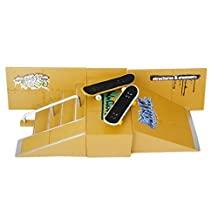 Skate Park Skatepark Ramp Parts For Tech Deck Finger Board #A