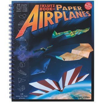 Klutz Book of Paper Airplanes by Klutz