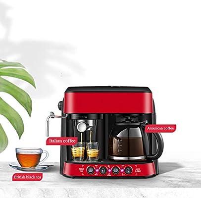 Cafetera DOOST 12 Tazas, Goteo programable de Acero Inoxidable ...