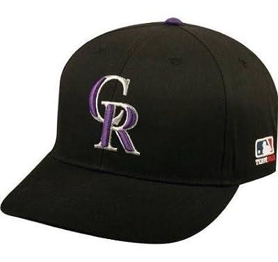 MLB Replica Adult Baseball Cap Various Team Trucker Hat Adjustable MLB Licensed , Colorado Rockies - Home