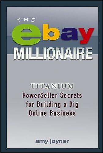 Amazon com: The eBay Millionaire: Titanium PowerSeller