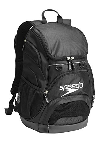 Speedo Large Teamster Backpack, Black/Black, 35-Liter from Speedo