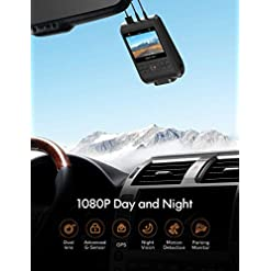 APEMAN Dash Cams, Front and Rear, Support GPS 1080P Full HD Dual Lens Car Camera with IPS Screen, Dual Dash Cam with 170… Amazon choices