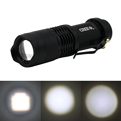 Modes Zoomable Flashlight Mini Cree Q5 Adjustable Torch 68 3 Handheld 5 Sk Led Pack Lamp Focus Tactical 7w 300lm Light qUVSzMp