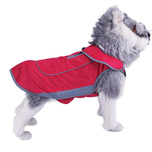 ThinkPet Dog Outdoor Jacket Warm Waterproof Canine Coat Cold Weather Resistant Winter Adventure Gear with Reflective Strips Review