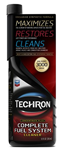 Chevron 67740-CASE Techron Concentrate Plus Fuel System Cleaner - 12 oz, (Pack of 6) by Chevron (Image #1)