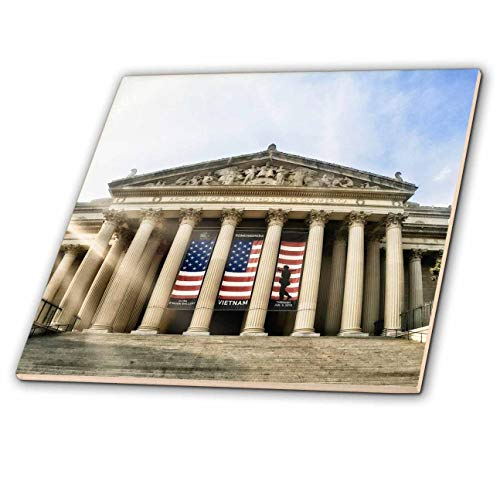 3dRose Boehm Graphics Travel - National Archives Building in Washington DC - 12 Inch Ceramic Tile (ct_293979_4)