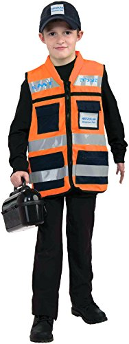 Forum Novelties Hatzolah Vest and Cap Costume, One Size