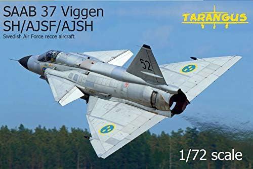 タラングス 1/72 スウェーデン空軍 サーブ AJS/AJSF/AJSH37 ビゲン プラモデル TGSTA7205