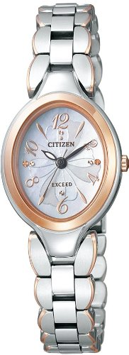 CITIZEN exceed Eco-Drive EX2044-54 W ladies watch