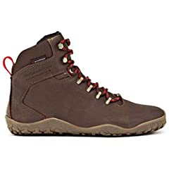 Street style meets trail performance in the Vivobarefoot® Tracker Firm Ground hiking shoe.  Winterproof HydroGuard lining moves moisture away from the skin for comfortable performance.  Naturally tanned leather uppers.  Lace-up closure.  Moi...