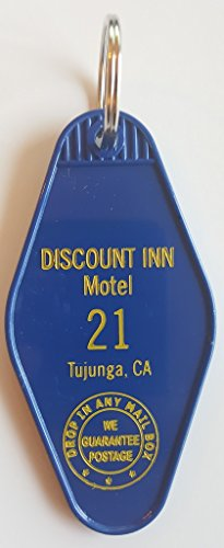 "41oCafeNSvL - Momento ""Discount Inn Motel"" Inspired Key Tag in Blue #304/#21"