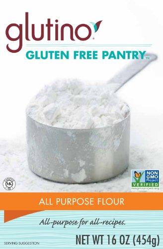 - Glutino Gluten Free Pantry All Purpose Flour, 16 Ounce -- 6 per case.