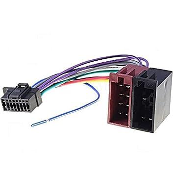 Kabel Anschluss Adapter ISO für Autoradio Sony CDX: Amazon.de ...