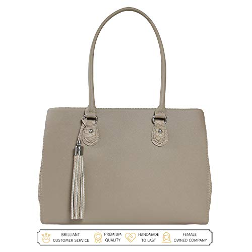 BFB Laptop Tote Bag for Women - Luxury Designer Computer Bag...