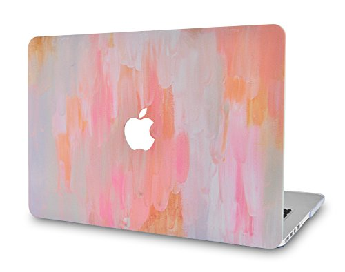 LuvCase Rubberized Plastic Hard Shell Cover Compatible MacBook Pro 13 inch A2159 / A1989 / A1708 / A1706 with/Without Touch Bar, Newest Release 2019/2018/2017/2016 (Mist 13)