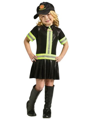Fire Girl Child Costume - -