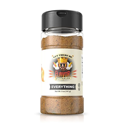 Flavor God #1 Best-Selling, Everything Seasoning, 1 Bottle, 5 oz by Flavor God