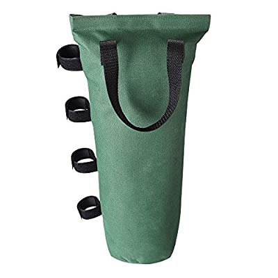 Yescom Weight Sand Bag 600D Canvas for Outdoor EZ Pop Up Canopy Tent Gazebo Shelter Green (Pack of 4): Garden & Outdoor